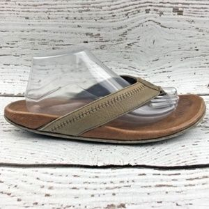 b23f9ac8a951 OluKai Shoes - OLUKAI Hiapo Mens Size 10 Leather FlipFlop Sandals